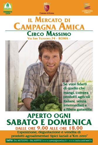 Mercato di Campagna Amica al Circo Massimo